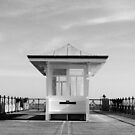 Alone on the Pier - Swanage Dorset by viennablue