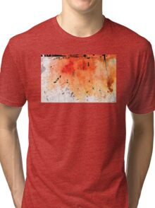 Red Abstract Art - Taking Chances - By Sharon Cummings Tri-blend T-Shirt
