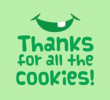 Thanks for all the cookies by jazzydevil