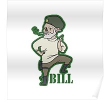 "mini William ""Bill"" Overback Poster"