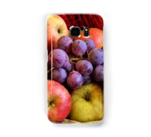 Apples and Grapes Samsung Galaxy Case/Skin