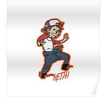 mini Keith Poster
