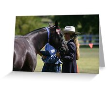 First place ASH ~ Rylestone-Kandos Show 2010 Greeting Card