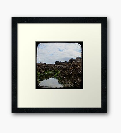 Rockpool - Through The Viewfinder (TTV) #2 Framed Print