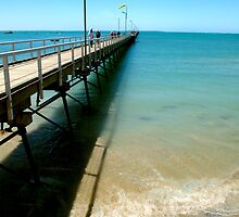 Beachport Pier,Beachport,South Australia by Max R Daely