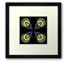 Orbes of Light Framed Print