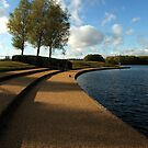 Lakeside view - Caldecotte, Milton Keynes by Nick Bland