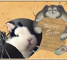 Happy Easter card by AleFletcher