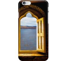 VIEW THROUGH THE WINDOW iPhone Case/Skin