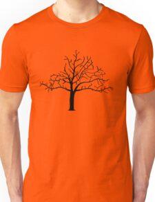 Bare Tree Design Unisex T-Shirt