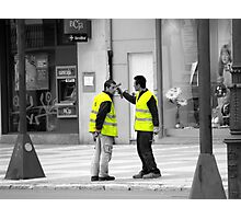 If you have an itch..............Take That!!! Photographic Print