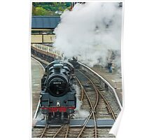 Steam Locomotive Llangollen Railway  Poster