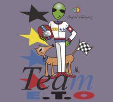 alien racer Kids Tee