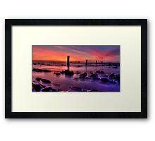 Silent Seascape Framed Print