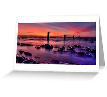 Silent Seascape Greeting Card