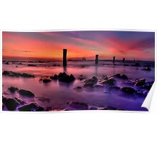 Silent Seascape Poster