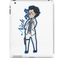 "mini Nicolas ""Nick"" Ghazi iPad Case/Skin"