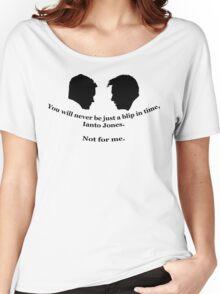 Janto Slash Print (black) Women's Relaxed Fit T-Shirt