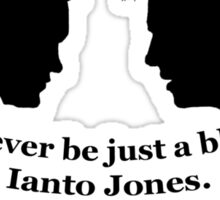 Janto Slash Print (black) Sticker