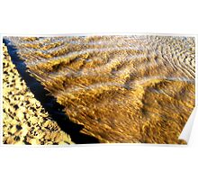 Sand Streams Poster