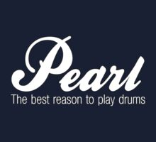 White Pearl  Drums One Piece - Short Sleeve