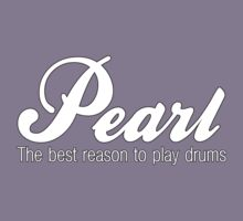 White Pearl  Drums Kids Tee
