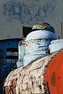 Rusting Train, Havana, Cuba by David Carton