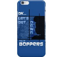 Boppers - Blue iPhone Case/Skin