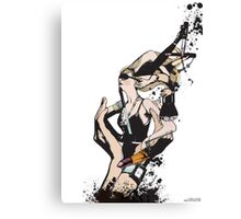 Redesign the body Canvas Print