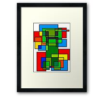 Neoplastic Creeper Framed Print
