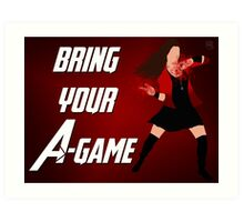 Scarlet Witch - Bring Your A-Game Art Print