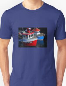 Fishing Boats moored at Pittenweem Harbour T-Shirt