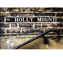 To Holly Mount Photographic Print