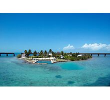 Pigeon Key in the Florida Keys Photographic Print