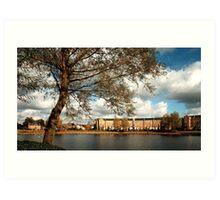 English Lakeland Landscape - Buckinghamshire Art Print