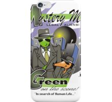 green on the scene iPhone Case/Skin