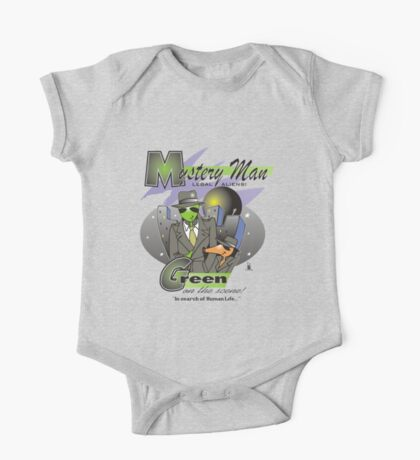 green on the scene One Piece - Short Sleeve