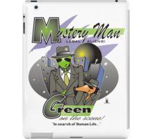 green on the scene iPad Case/Skin