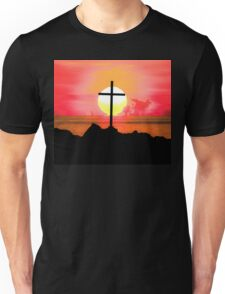 Sunset Cross Unisex T-Shirt