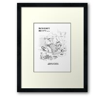 Bushcraft Betty01 Framed Print
