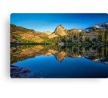 Utah Nature Photography Lake Blanche Canvas Print