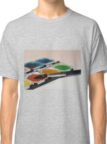 Brush and Paintbox Classic T-Shirt