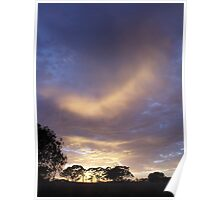Pingelly February Dawn Sky Poster