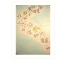 Lil Angels Art Print