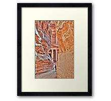 Petra, Jordan - World Wonders Framed Print
