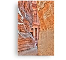 Petra, Jordan - World Wonders Canvas Print