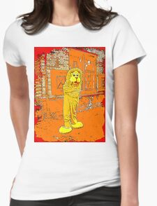 Hungry Lion 4 Womens Fitted T-Shirt