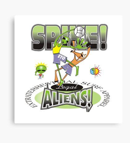 alien spike Canvas Print