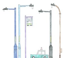 Lampposts  by THECBF