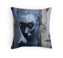 Door art Throw Pillow